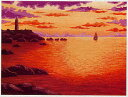 東京文化刺繍キット197(夕なぎ)(3号)
