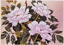 東京文化刺繍キット210(白牡丹)(6号)
