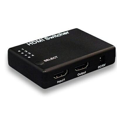 ラトック 4入力1出力 HDMIセレクター RP-HDSW41 Dolby Atmos