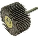 ヤナセ 軸付フラップホイール40# 10個 YUF5025 40