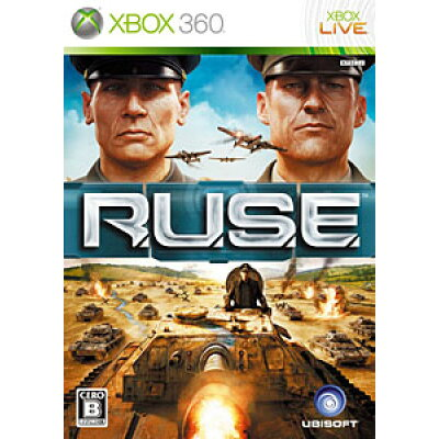 R.U.S.E.(ルーズ)/XB360/JES1-00087/B 12才以上対象