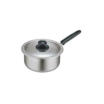 18-0モリブデン実用鍋 片手 18cm 2.6L