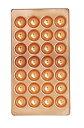 銅製たこ焼天板 28穴
