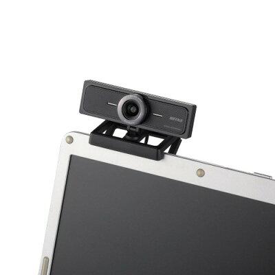 iBUFFALO ウェブカメラ BSW200MBK