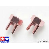 タミヤ OGパーツ OG11 GB-01 アルミホイールハブ(ピンク) 40511