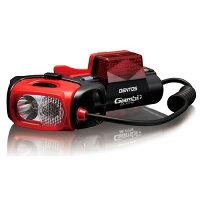 ジェントス LED ヘッドライト ガンビット GB-77TTR