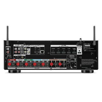 デノン 7.2ch AVサラウンドレシーバーアンプ AVR-X1600H-K