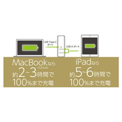MCO 高出力対応USB-ACアダプタ 3ポートタイプ IPA-C01/WH