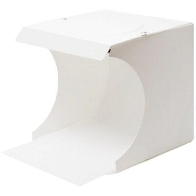 ミヨシ 折りたたみ式撮影BOX LEDライト付