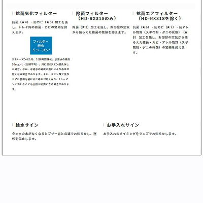 DAINICHI 加湿器 RX SERIES HD-RX918(T)