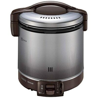 RR-100FS-DB-12A13A ガス炊飯器 都市ガス用 Rinnai リンナイ こがまる 2~10合 炊飯専用 RR100FSDB12A13A ダークブラ