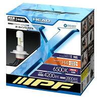 IPF LEDヘッドライト 341HLB H4 Hi/Lo 6500k オールインワンボディ