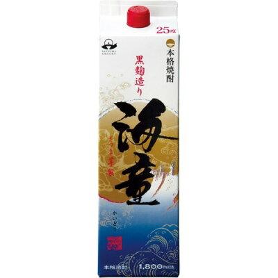 海童 芋焼酎 25度 パック(1.8L)