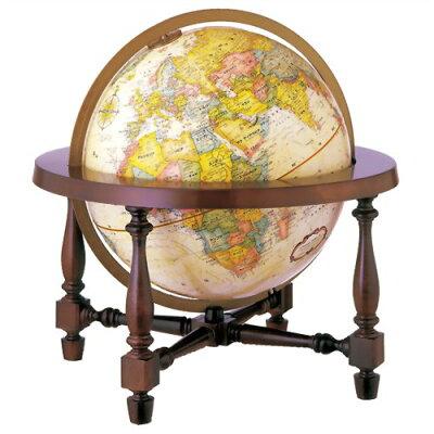 リプルーグル地球儀 ワールド・クラシック・シリーズ コロニアル型(英語版) 31700