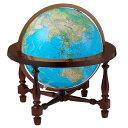 The James Wilsonリプルーグル地球儀 ジェームス ウィルソン型英語版ブルーオーシャン地図