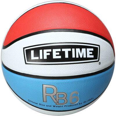 LIFETIME ライフタイム バスケットボール6号球 SBBRB6 WRB W/R/B