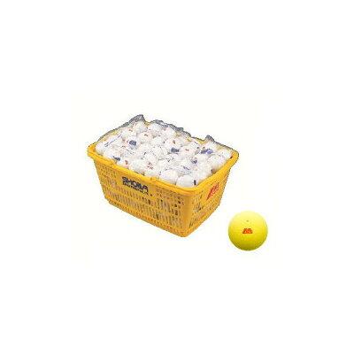 アカエム ソフトテニスボール イエロー カゴ入り 120球入り M30330