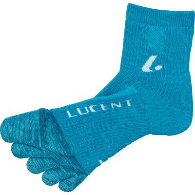 ルーセント LUCENT Men's 指ソックス ターコイズ XLN3007
