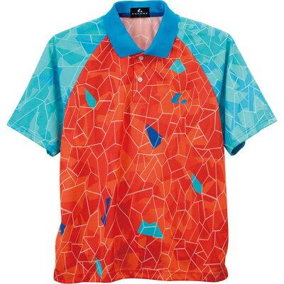 LUCENT  ユニセックス ゲームシャツ オレンジ XLP8412 オレンジ S