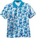 LUCENT  ユニセックス ゲームシャツ ブルー XLP8427 ブルー L