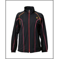ルーセント Ladies ウォームアップシャツ ブラック SWC-XLW6199
