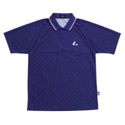 LUCENT Uni ゲームシャツ ネイビー XLP7956 ネイビー S