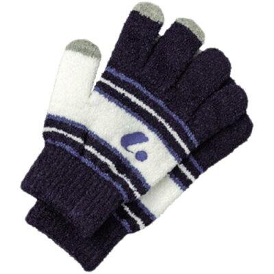 ルーセント LUCENT 手袋 タッチパネル対応 ネイビー XLE6016