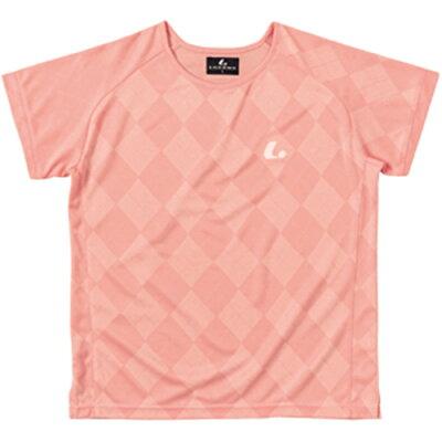 ルーセント LUCENT レディース ゲームシャツ 襟なし ピンク XLH2271