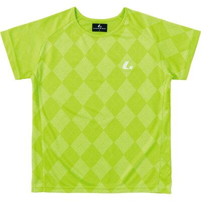 ルーセント LUCENT レディース ゲームシャツ 襟なし ライム XLH2275