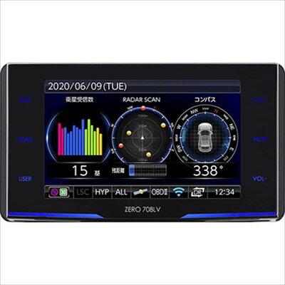 コムテック レーザー&レーダー探知機 ZERO 708LV