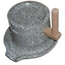 ナガノ産業 みかげ石ミニ挽き臼φ13cm
