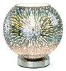Kishima キシマ 3D テーブルライト 1灯 クローム NL-15001 NL-15001