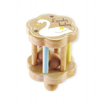 ベビー 木製玩具 星空のガラガラ KT-70002