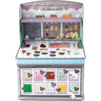 キシマ ごっこ遊び キッズ収納ボックス アイスクリームショップ 0ヶ月~6歳 出産祝い KNB-88051