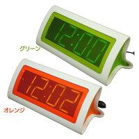 リムレックス デジタルLED置時計 目覚し時計 スプレイ T-648 GR グリーン