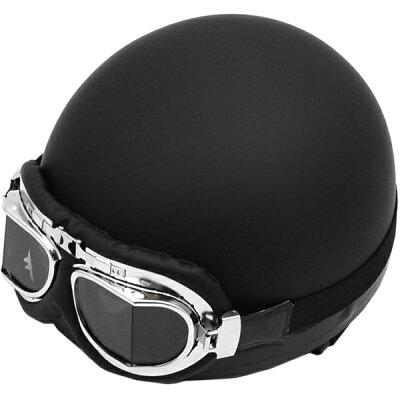 LEAD工業 リード工業 半帽タイプヘルメット CROSS クロス CR-751 ビンテージハーフヘルメット