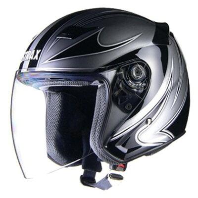 LEAD工業 リード工業 STRAX ストラックス SJ-9 ジェットヘルメット LL 61-62cm未満