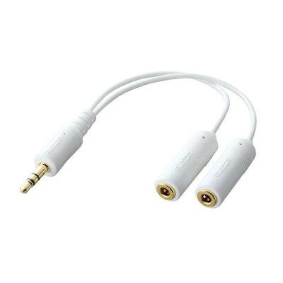 ELECOM iPod用モバイルオーディオケーブル IPC-AS/WH