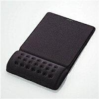 エレコム リストレスト付マウスパッド COMFY ブラック MP-095BK