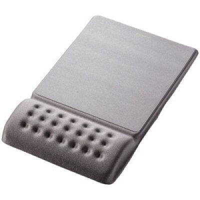 エレコム リストレスト付マウスパッド COMFY グレー MP-096GY
