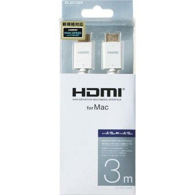 ELECOM HDMIケーブル CAC-APHD14E30WH