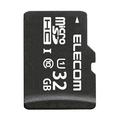 エレコム microSDHCカード Class10 UHS-1 50MB s 32GB