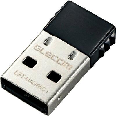エレコム Bluetooth4.0 USBアダプター Class1 LBT-UAN05C1