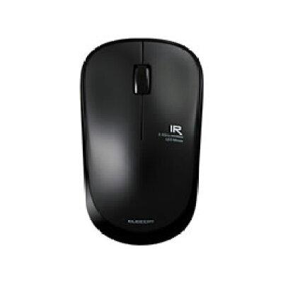 エレコム ワイヤレスマウス USB 3ボタン IR LED 静音 省電力 M-IR07DRSBK(1個入)