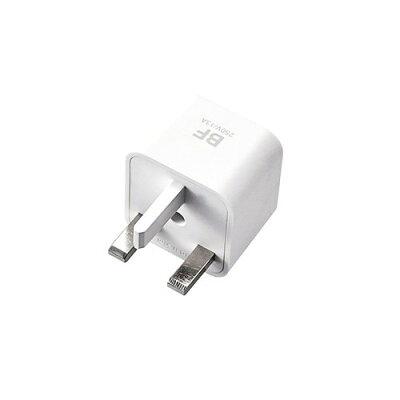 エレコム 安全設計 海外用 電源タップ 変換プラグ BFタイプ T-HPABFWH(1コ入)