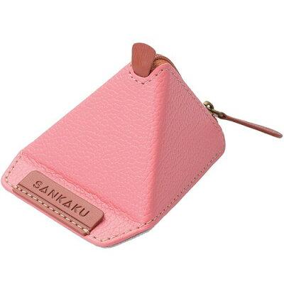 エレコム スマートフォン用三角スタンド ソフトレザー ピンク P-DSSANL(1コ入)