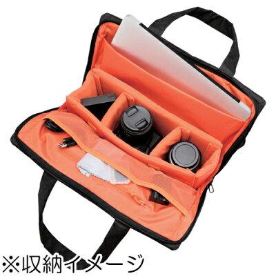 エレコム 2スタイルカメラトートバッグ ブラック DGB-S030BK(1コ入)