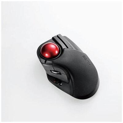 エレコム トラックボールマウス ワイヤレス 人差し指 中指操作 8ボタン M-HT1DRBK(1個入)
