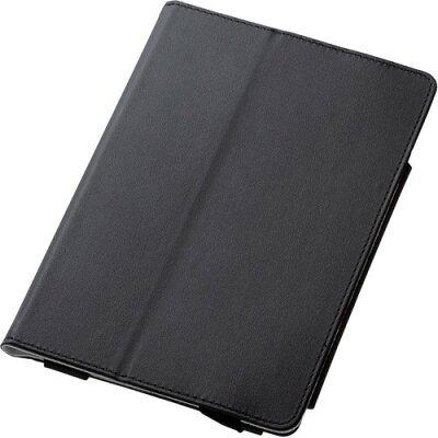 iPad mini 4 フラップカバー ソフトレザー 2アングル 軽量 ブラック TB-A17SPLFBK(1コ入)