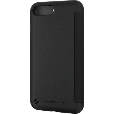 エレコム iPhone8Plus TOUGH SLIM シェルフラップ ブラックPM-A17LTSSBK(1コ入)